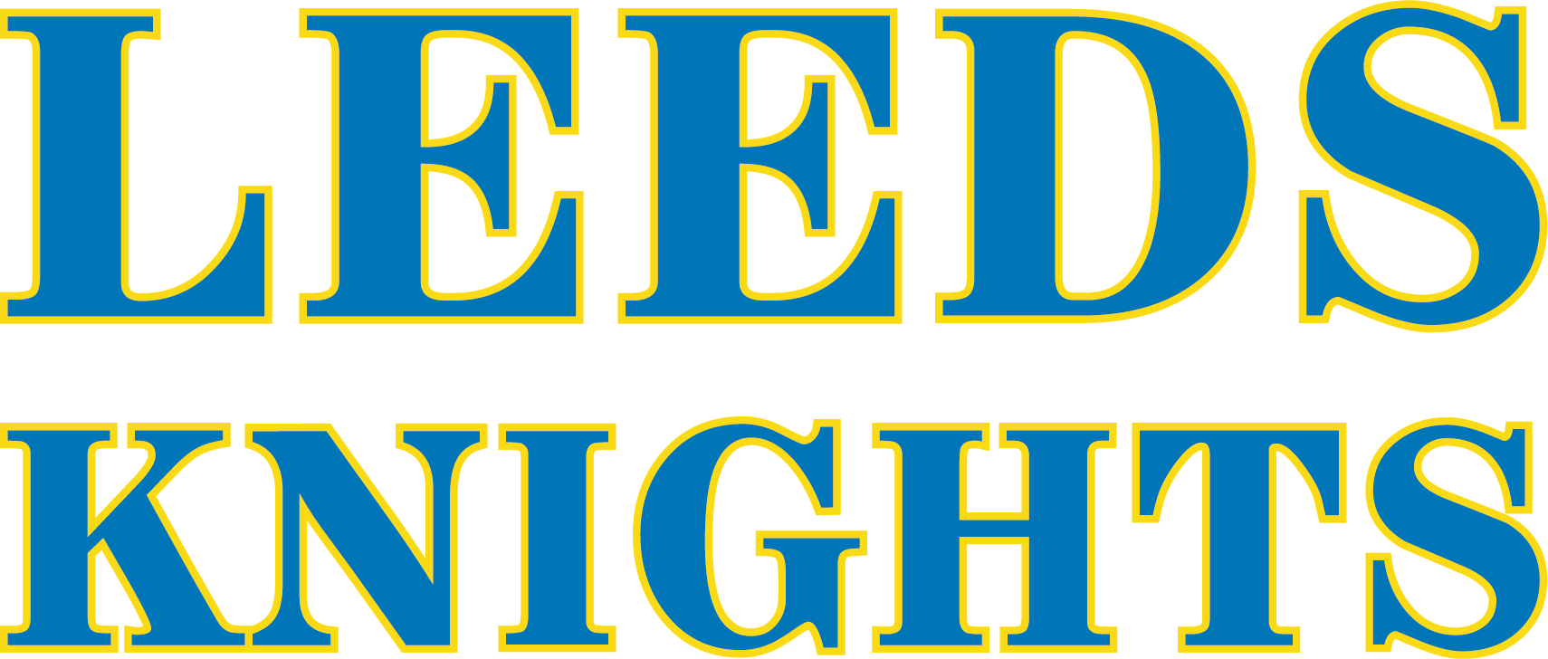 Leeds Knights text version landscape