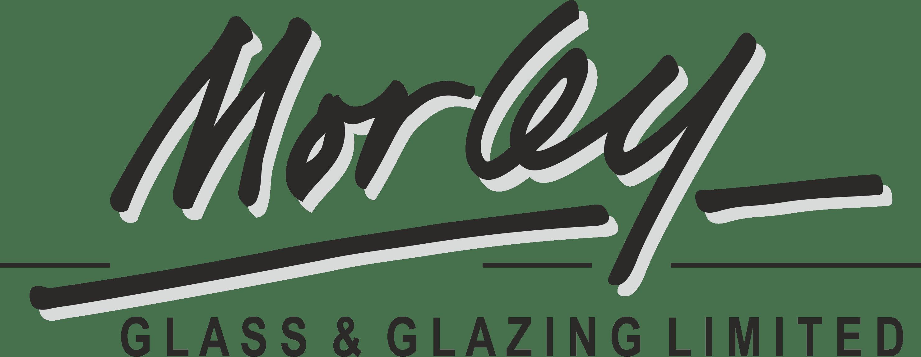 Morley Glass Logo - Black & Grey